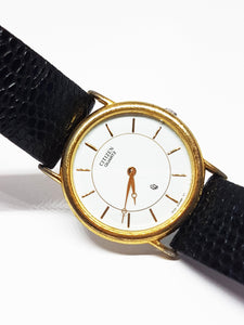 Gold-tone Luxury Vintage Citizen Watch | Best Citizen Quartz Watches - Vintage Radar