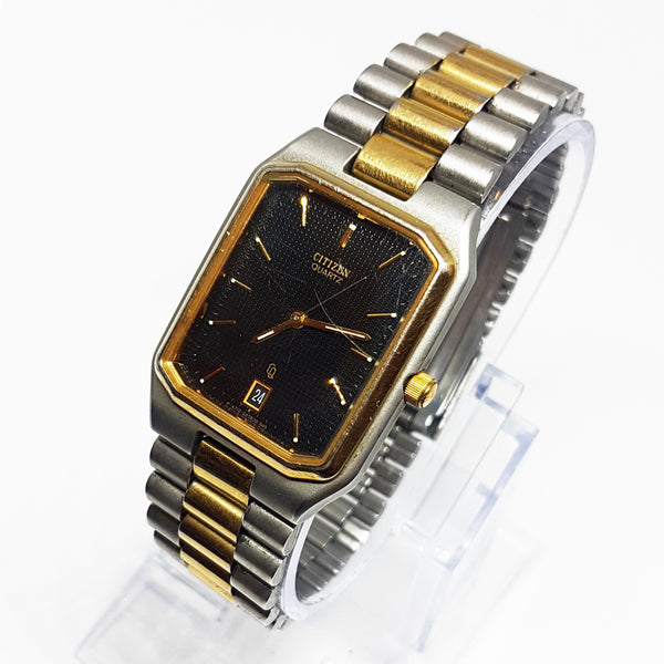 Citizen Women's Gold-tone Quartz Watch | Square-Dial Citizen Watch - Vintage Radar