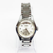 Load image into Gallery viewer, 17 Jewels Citizen Mechanical Watch | Citizen Women's Silver-tone Watch - Vintage Radar