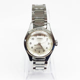 17 Jewels Citizen Mechanical Watch | Citizen Women's Silver-tone Watch - Vintage Radar