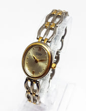 Load image into Gallery viewer, Two-Tone Citizen Quartz Watch For Ladies | Vintage Women's Watches - Vintage Radar