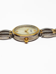 Two-Tone Citizen Quartz Watch For Ladies | Vintage Women's Watches - Vintage Radar
