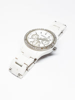 White Dial Fossil Quartz Watch | Luxury Vintage Watches - Vintage Radar