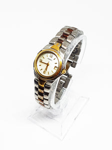Two-Tone Fossil Vintage Watch | Luxury Quartz Watches - Vintage Radar