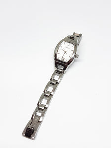 Fossil Silver-Tone Vintage Quartz Watch | Best Vintage Watches - Vintage Radar