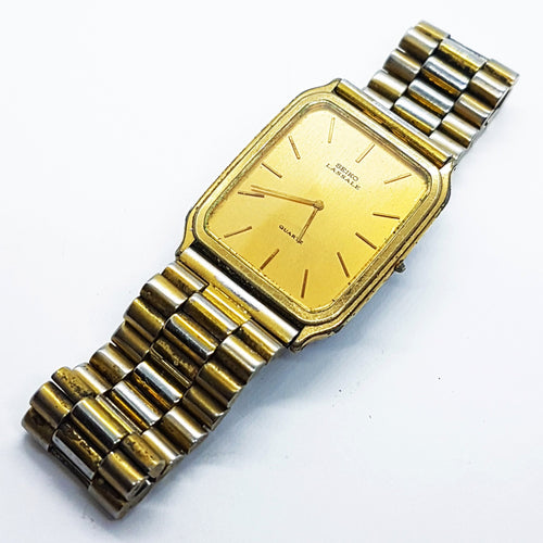 Rare Gold-Tone Seiko Lassale Watch | Best Vintage Luxury Watches - Vintage Radar
