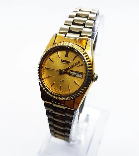 Two-Tone Vintage Seiko Watch |  Men's And Women's Best Quartz Watches - Vintage Radar
