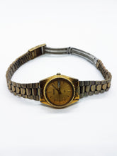 Load image into Gallery viewer, Vintage 3E23-0A69 Seiko Watch |  Gold-tone Unisex Seiko Date Watch - Vintage Radar