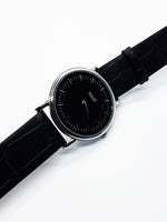 Minimalist All-Black Ascot Quartz Watch | Best Vintage Watches - Vintage Radar