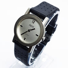 Load image into Gallery viewer, Silver-Tone Ascot Vintage Watch | Minimalist Industrial-Style Watch - Vintage Radar