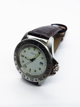 Load image into Gallery viewer, Silver-Tone Ascot Date Watch For Men | Luxury Ascot Quartz Watch - Vintage Radar
