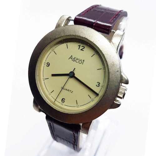 RARE Silver-Tone Ascot Vintage Watch | Best Ascot Quartz Watches - Vintage Radar