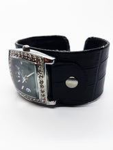 Load image into Gallery viewer, Luxury Ascot Watch For Women | Silver-Tone Rhinestones Gift Watch - Vintage Radar