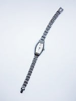 Silver-Tone Accurist Quartz Watch for Women | Elegant Vintage Watches - Vintage Radar