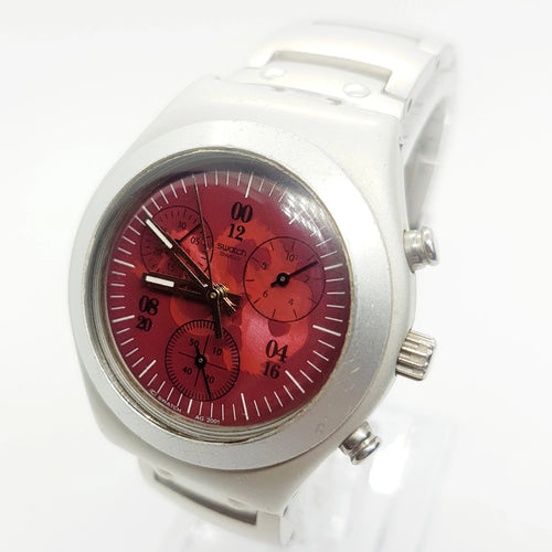 ساعة SWATCH 007 الخاصة JAMES BOND - YMS1006 Tomorrow Never Dies - Vintage Radar