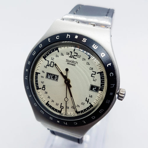 90s Rare Vintage Swatch Irony Watch | Reloj Swatch HIJACKER YGS7003A - Vintage Radar