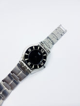 Load image into Gallery viewer, Genuine Swiss Womens Watch | Swatch Classic Skin BLACK ZONE SFM105G - Vintage Radar