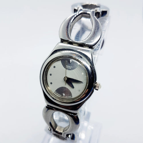 1999 SWEETHEART YSS113G Reloj Swatch Irony para Mujer | Swatch Lady - Radar Vintage