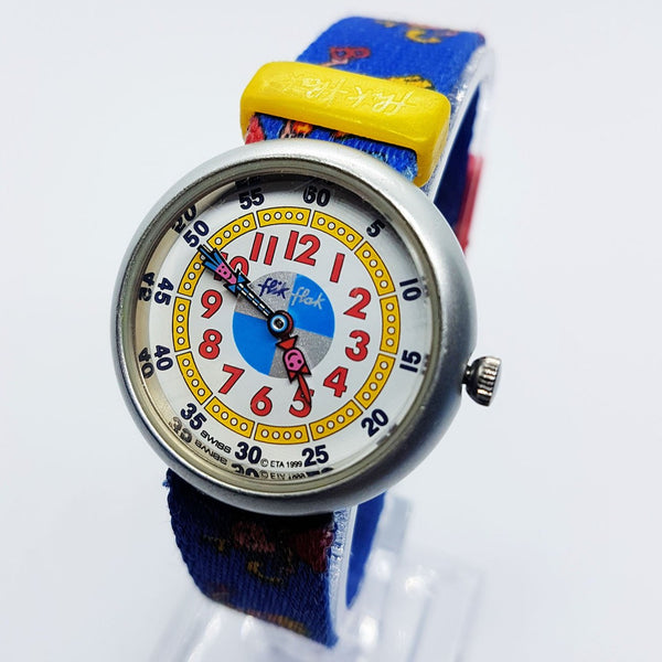1999 Vintage Swiss Flik Flak Watch for Kids & Adults | Hipster Watches