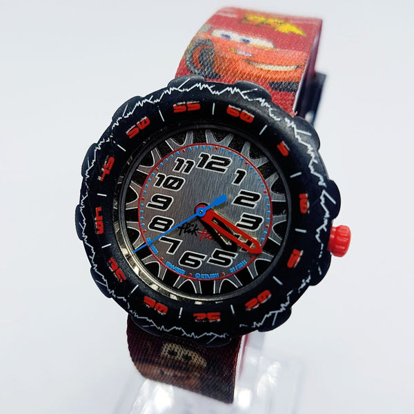 Swatch Flik Flak Disney Pixar Cars 2 Lightning McQueen Watches FLS030