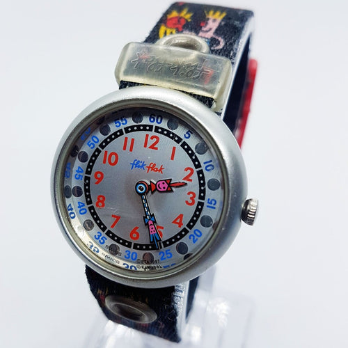 1997 Flik Flak Story Time Boxer Watch | Vintage Swiss Boxing Watch Gifts