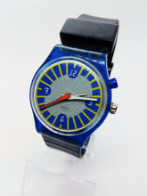 Load image into Gallery viewer, 1999 ANTI-SLIP GN907 Loomi Glow Swatch Watch | Rare Cool 90s Swatch Watch - Vintage Radar