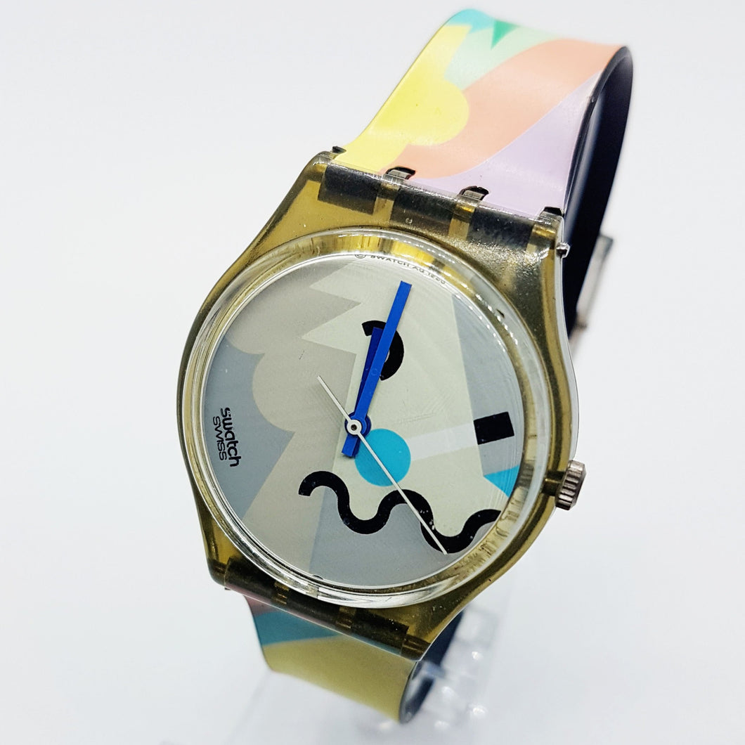 1990 COSMESIS GM103 Rare Swatch Model | 90s Limited Edition Swatch Watch - Vintage Radar