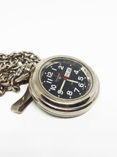 Load image into Gallery viewer, Vintage Coleman Pocket Watch | Silver-tone Industrial Pocket Watch - Vintage Radar