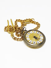 Load image into Gallery viewer, Vintage Endura Swiss Pocket Watch | Gold-tone Vintage Pendant - Vintage Radar