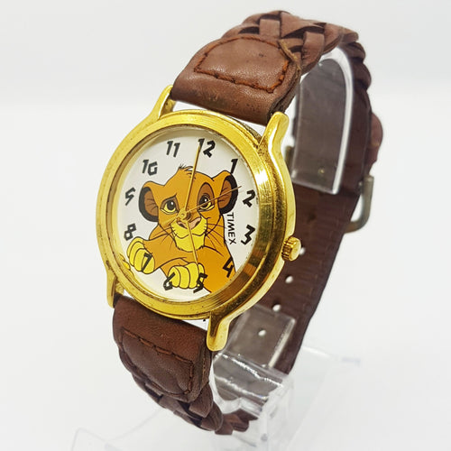 Vintage Simba Lion King Watch | 90s Disney Timex Vintage Watch - Vintage Radar