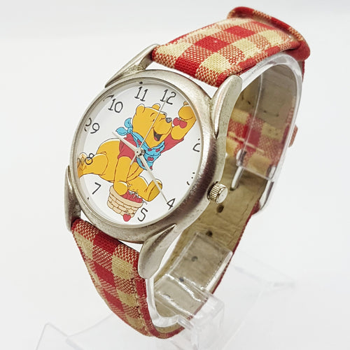 RARE Winني the Pooh & Chrerries Vinnage Watch | Wديزني Timex Watches-Vinage Radar-Vinage Radar