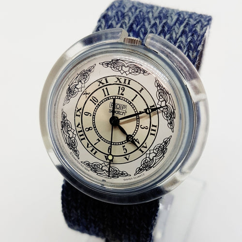1994 WARM UP PMN104 Reloj pop Swatch Reloj de reloj pop suizo de los 90 - Radar Vintage