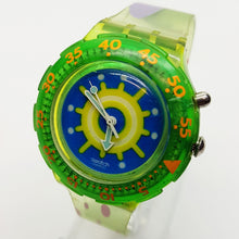 Load image into Gallery viewer, 1996 REEF SDL900 Swatch Scuba Watch | Mens 90s Swiss Diver Glow Watch - Vintage Radar