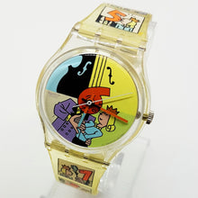 Load image into Gallery viewer, 1998 DIA ANIMADO GK269 Swatch | 90s Hipster Swiss Swatch Watch for Men & Women - Vintage Radar