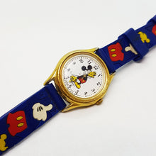 Load image into Gallery viewer, Cute Vintage Disney Watches, Lorus v515 6080 A1 Mickey Mouse Watch