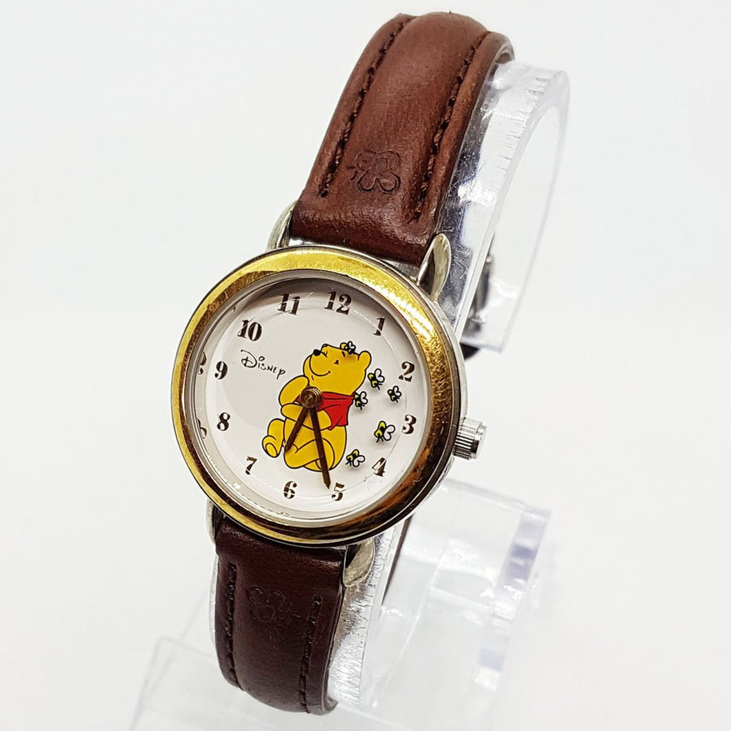 Seiko Winnie The Pooh Disney Watch for Men and Women 26mm Vintage