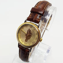 Load image into Gallery viewer, Gold & Silver Seiko Winnie The Pooh Disney Watch 90s Vintage Watch