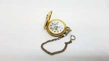 Load image into Gallery viewer, Verichron Mickey Mouse Vintage Pocket Watch 90s Disney Watches