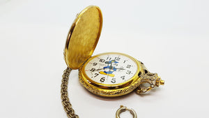 Verichron Mickey Mouse Vintage Pocket Watch 90s Disney Watches