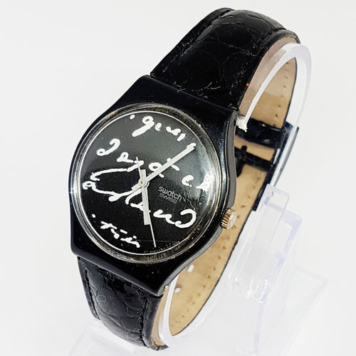 WHITE WRITING GB165 Vintage Swatch Watch | Elegant Swiss Watch - Vintage Radar
