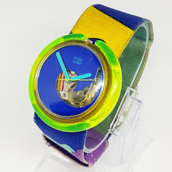 AQUA CLUB PWK138 Pop Swatch Watch | 90s Vintage Pop Swatch Watches - Vintage Radar