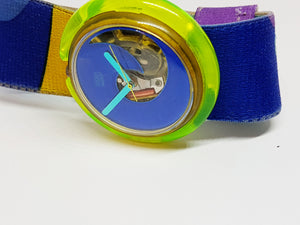 RELOJ AQUA CLUB PWK138 Pop Swatch ( Aqua CLUB PWK138 Pop Swatch Watch) Relojes Vintage Pop Swatch de los años 90 - Radar Vintage