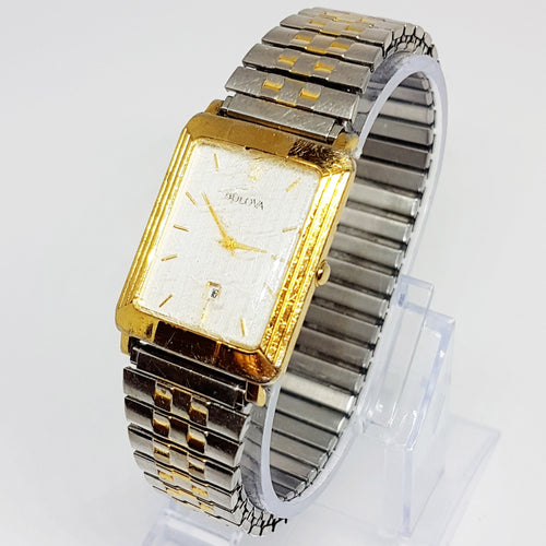 Two-tone Elegant C975375 Bulova Watch | Bulova Accutron Watches - Vintage Radar