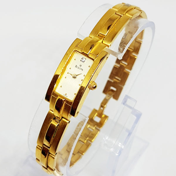 Luxury Bulova Accutron Quartz Watch | Vintage Gold-tone Women's Watch - Vintage Radar