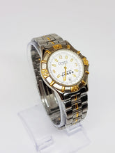 Load image into Gallery viewer, Silver Men's Bulova Five Star Watch | Two-tone Caravelle Watch for Men - Vintage Radar
