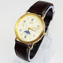 Load image into Gallery viewer, Rare Citizen Elegance 6350-G30241 Triple Calendar Moon Phase Watch - Vintage Radar