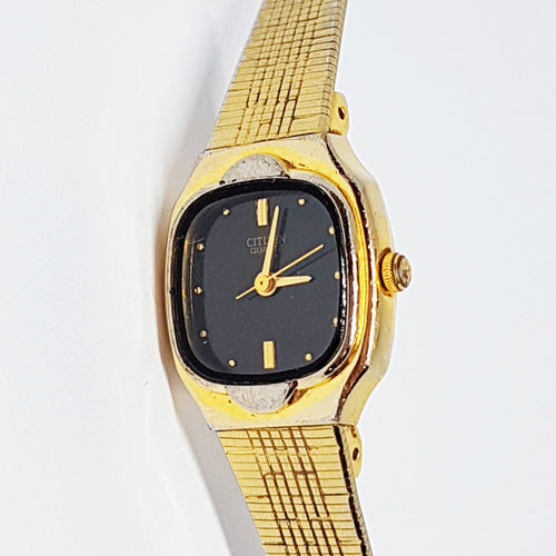 Vintage Ladies Citizen 6031-R06578 Watch | 90s Gold-tone Dress Watch - Vintage Radar