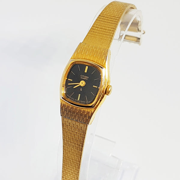 90s Citizen Ladies Wristwatch | Gold-tone Dress Watch Citizen 3220-899148 - Vintage Radar
