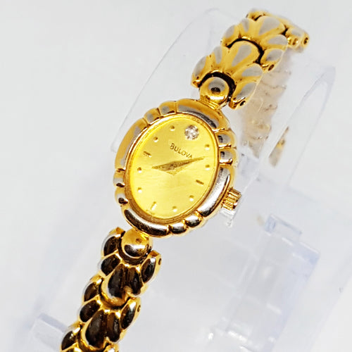 Victage Victorian Bulova Watch for السيدات | Gold Watch Fintage Radar Vintage