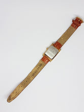 Load image into Gallery viewer, Blue Dial Helbros Quartz Watch | Elegant Gold-tone Helbros Watch - Vintage Radar